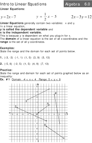 System Of Linear Inequalities Worksheet Standard Form Of A Linear Equation Worksheet