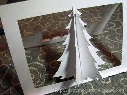 extreme cards and papercrafting 3d christmas tree pop up card