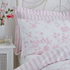 pink floral toile duvet cover set charlotte thomas