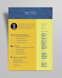 10 newest free u0026 premium resume templates for graphic u0026 web designers