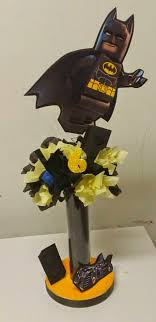 batman centerpieces s creations birthday theme centerpieces