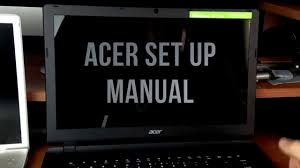 acer laptop set up and free windows 10 upgrade guide youtube