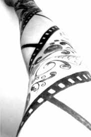 small film strip tattoo pictures to pin on pinterest tattooskid