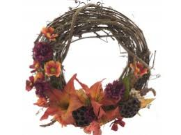 dried wreaths grapevine and moss wreaths