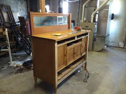 finished renovation part 1 repurposed sideboard kitchen island
