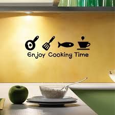 Kitchen Cabinet Quote by Compare Prices On Vinyl Wall Art For Kitchen Online Shopping Buy