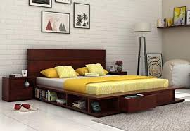 beds without storage buy storage less bed online india