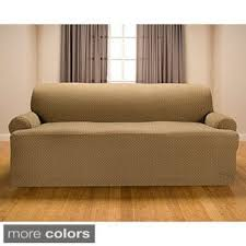 Three Cushion Sofa Slipcovers T Cushion Sofa U0026 Couch Slipcovers Shop The Best Deals For Nov