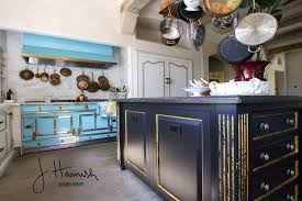 Blue Cabinets Kitchen by Using Color Therapy In Designing A Living Space
