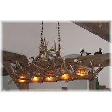 Antlers Lighting Chandelier Hidalgo Deluxe Pool Table Elk Antler Chandelier
