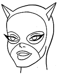 stunning act of cat women coloring pages stunning act of cat
