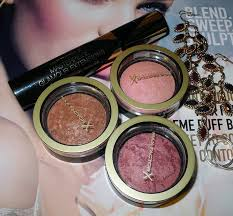 max factor creme puff blushes review and swatches