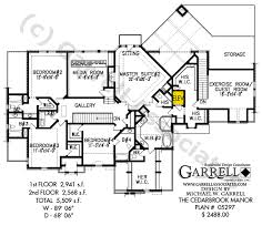 cedarbrook manor house plan barrier free house plans