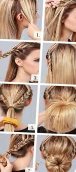 Kurze Haare Hochstecken Hochsteckfrisurenen by Haare Hochstecken Für Anfänger Unsere Top 10