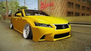 lexus station wagon 2013 lexus gs350 f sport iv slammed 2013 for gta san andreas