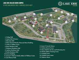 Usa Campus Map by Directions To Lake Erie College Lake Erie College
