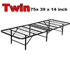 Cing Bed Frame Folding Cing Bed Modern King Size Bi Fold Folding Platform Metal