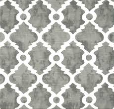 Home Decor Fabric Gray Lattice Fabric Geometric Home Decor Fabric By The Yard