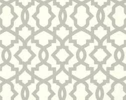 Geometric Drapery Fabric Apache Fabric Neutral Green U0026 Mushroom Cotton Fabric Drapery