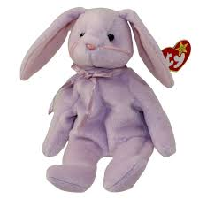 ty beanie baby floppity purple bunny 8 5 bbtoystore