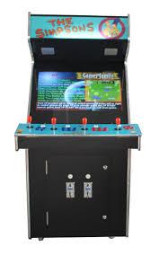 arcade rewind 3500 in 1 upright arcade machine with simpsons