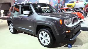 new jeep renegade 2017 2017 jeep renegade limited 4x4 exterior and interior walkaround