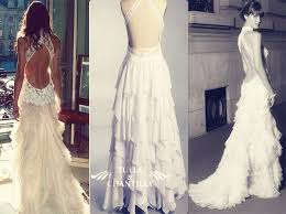 wedding dress open back modern brides top dramatic and intricate back designs of wedding