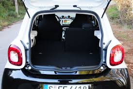 nissan micra luggage capacity smart forfour review auto express
