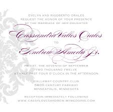 wedding invitations in spanish u2013 gangcraft net