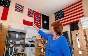 Civil War Flags For Sale Drum Barracks Civil War Museum In Wilmington Pulls Its Confederate