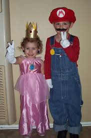Mario Halloween Costumes Girls Princess Peach Costume Yoursparklebox Charlotte Modeling