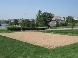 backyard volleyball net home outdoor decoration