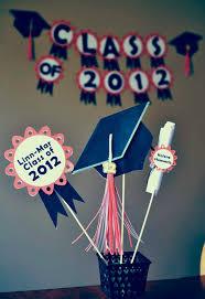 17 best graduation centerpiece ideas images on pinterest