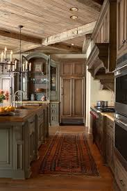 Rustic Home Interior Magnificent Rustic Home Interior Designs Of Kitchen Painting