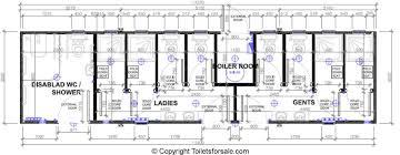 Cubicle Floor Plan by Toilet U0026 Shower Blocks Toilets For Sale