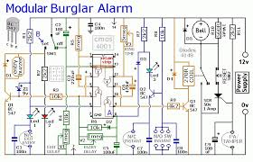 burglar alarm wiring diagram pdf wiring diagram and schematic