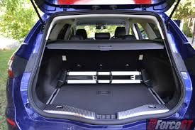 opel insignia wagon trunk 2016 ford mondeo trend wagon luggage space forcegt com