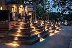 led landscape lighting ideas hadco led landscape lighting elegant outdoor deck lighting ideas