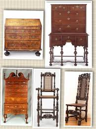 William And Mary Chair Identifying Antique Furniture The William And Mary Style 1690