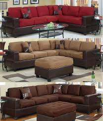 Suede Sectional Sofas Microfiber Sectional Sofas Loveseats Chaises Ebay