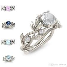 diamond rings zirconia images New branch elven crystal diamond ring cubic zirconia ring wedding jpg