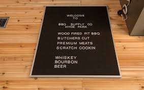tour hyde park s new barbecue spot before friday s opening eater the restaurant prides itself on quality ingredients