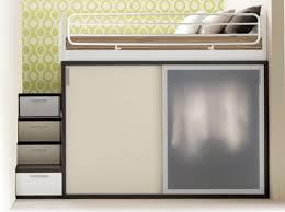 furniture modern saving space in bedroom alongside high foamy