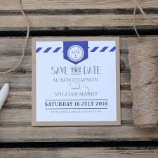 Nautical Save The Date Luxury Handmade Save The Date Cards Uk Wedding Invitation Boutique