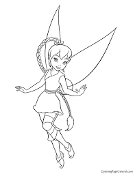 tinkerbell u2013 fawn 01 coloring page coloring page central