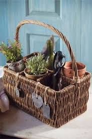 Country Wine Basket Antique French Champagne Carrier Baskets Pinterest