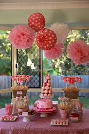 decorations kids theme party decoration idea with polka dots