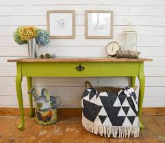 Yellow Console Table Easy Project Paint A Harvest Themed Console Table Diy Passion