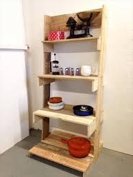 Diy Ladder Shelf Shelves Tutorials by Diy Pallet Ladder Shelves Unit 101 Pallets