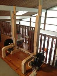 Diy Wood Squat Rack Plans by Homemade Power Rack Craftiness Pinterest Power Rack